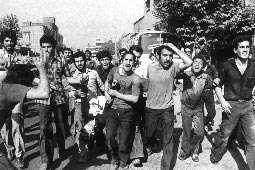 قيام مردم تبريز