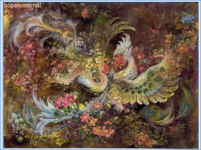 گالری تابلوهای زیبای استاد فرشچیان------>>عکس