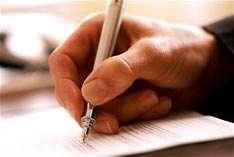 قلم و نوشته