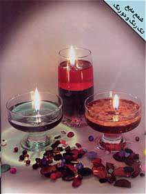 شمع مایع