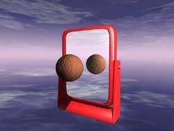 بازی یا آینه