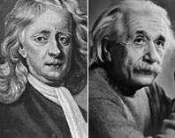 قصه های من و انیشتن و نیوتن