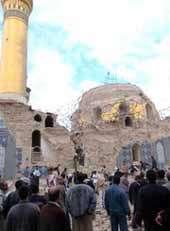 گزارش تصویری ازانفجار سامراء و هتک حرمت حرم امام هادی علیه السلام