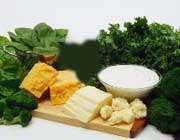 سبزیجات و لبنیات