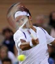 فدرر بهترین تنیس باز حال حاضر جهان در زمین های چمن است