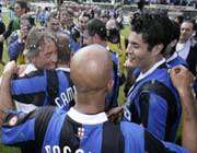 picture of the inte milan team