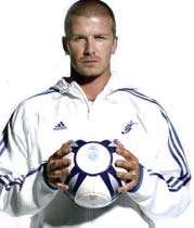 بکام ستاره انگلیسی رئال مادرید
