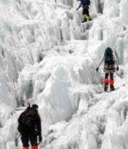 بلند ترین قله جهان پاکسازی شد
