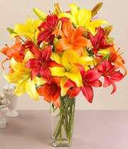 گلدان حاوی گل