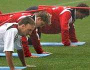 تونی و ریبری در تمرینات بایرن