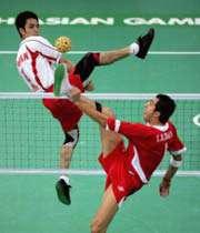 تیم ملی سپک تاکرا ایران در بازیهای آسیایی دوحه نمایش خوبی نداشت
