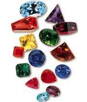 سنگ های جواهر رنگی