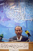 محمد علی خواجهپیری مدیر پانزدهمین نمایشگاه بینالمللی قرآن كریم
