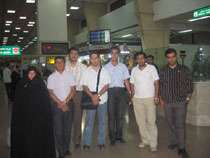 بازدید برندگان مسابقه نوروزی تبیان از نیروگاه اتمی بوشهر