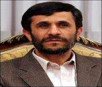 Le président iranien Mahmoud Ahmadinejad est arrivé dimanche à Abou Dhabi.