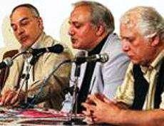 la projection des  films documentaires sur le tapis persan à venise .