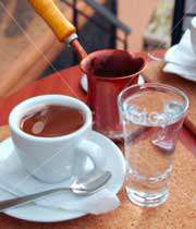 سرو قهوه ترک