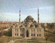 la mosquée suleimanye d'istanbul