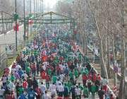 شرکت جامعه ورزش در راهپیمایی روز قدس