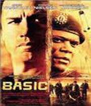 affiche du film « basic » : le trafic de drogue couvert par l'armée américaine en amérique latine (2003)