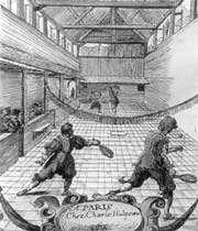 jeu de paume à paris au xviie siècle