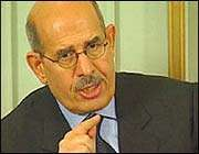 mohammad al-baradei, directeur de l'aiea
