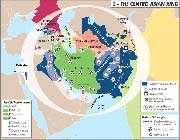 le dispositif américano sioniste autour du territoire de la république islamique d'iran