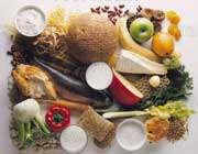 مواد غذایی مختلف