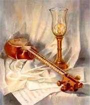 Тар .с картины художника Хомы Гафарзаде