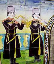 Росписи Голестанского дворца _ Тегеран