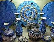 знаменитая исфаганская посуда