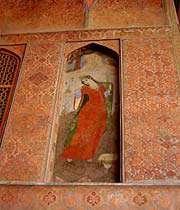 фреска во дворце али капу