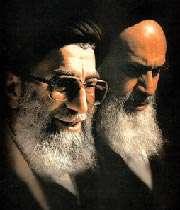 Aятулла Хаменеи и Имам Хомейни