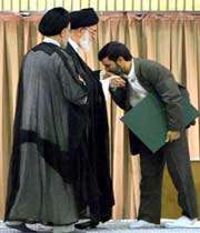 l'investiture de m.ahmadinejad en été 2005