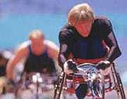 ورزشكار معلول و وسائل مكانیكی