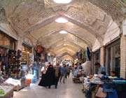 bazaar de l'époque safavide de zanjan