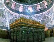 ضریح مبارک امام علی القی