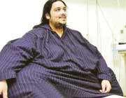 ناصر الحساوی،مرد 395 کیلویی