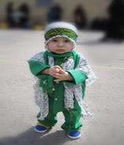 мальчик в траурных церемониях