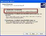 نحوة تنظیم ویندوز XP برای ارتباط با اینترنت
