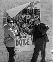 فلینی و مارچلو ماسترویانی