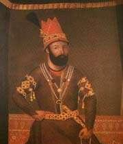 portrait de nadir shah