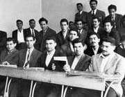شہید ڈاکٹر چمران تہران یونیورسٹی میں