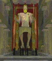 التمثال الضخم لزيوس