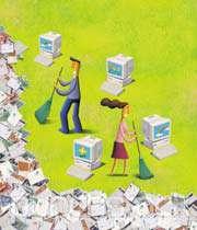 پاکسازی از ایمیلهای بلااستفاده