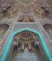 مسجد گوہر شاد کا ایک دلکش منظر