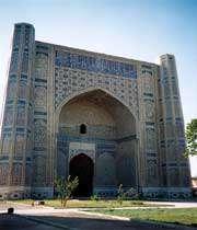 بی بی خانم مسجد کا بیرونی منظر