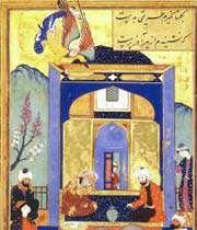 l'histoire du prophète abraham, artiste inconnu, boustan de saadi