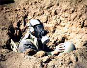 به کار بردن سلاح های شیمیایی توسط عراق در دفاع مقدس