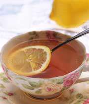 چای با لیمو ترش